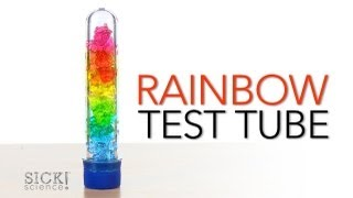 Rainbow Test Tube - Sick Science! #156