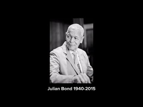 Honoring Julian Bond (1940-2015)