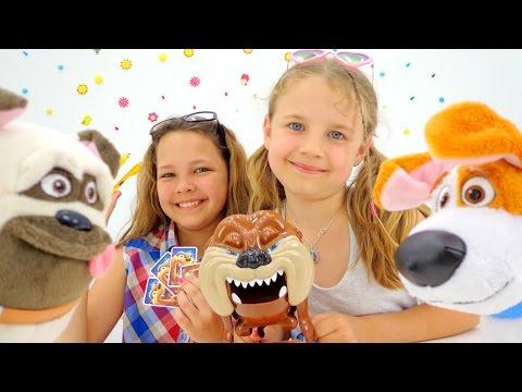Развивающие игры для детей. Собака-кусака и Тайная Жизнь Домашних Животных. Видео про игрушки.