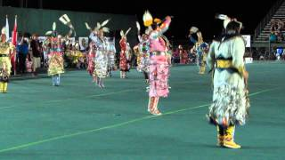 Soboba Powwow 2014 Womens Jingle Dress Special Song 2 Ft. Acosia Redelk
