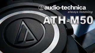 Наушники Audio-Technica ATH-M50 s - золотая середина.(Подписывайтесь, у меня на канале есть ещё обзоры, заходите ;) Позиционируются как профессиональные, для..., 2014-01-05T16:49:36.000Z)