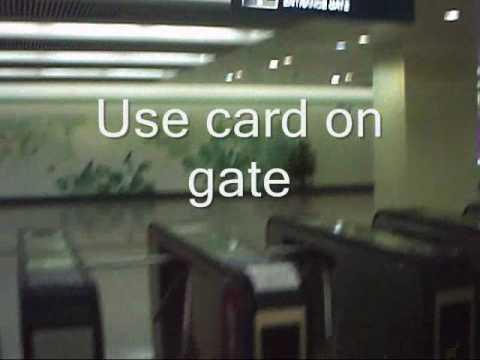 Buying ticket on Shanghai Metro