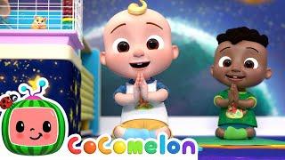 JJ's Yoga Song   CoComelon Nursery Rhymes & Kids Songs