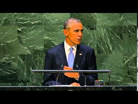 President Obama addresses the 69th Session of the United Nations General Assembly.