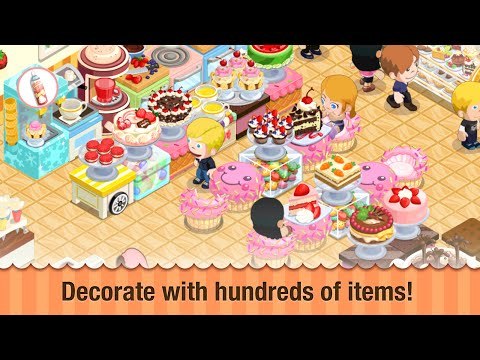 Bakery Store : Design Your Own Dream Bakery | IOS/Android Games For Childrens
