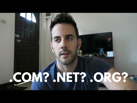 .COM vs .NET vs .ORG - Does It Really Matter Anymore?