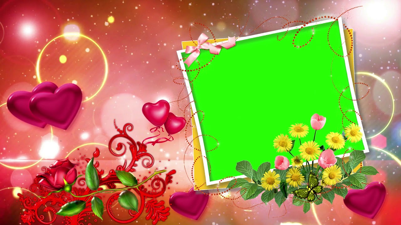 Wedding Frame Green Screen | Frameswalls org