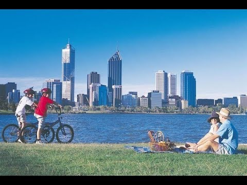 South Perth Beautiful Scenery Of City View - YouTube  South Perth Bea...