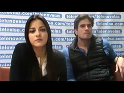Chat Maite Perroni y Daniel Arenas