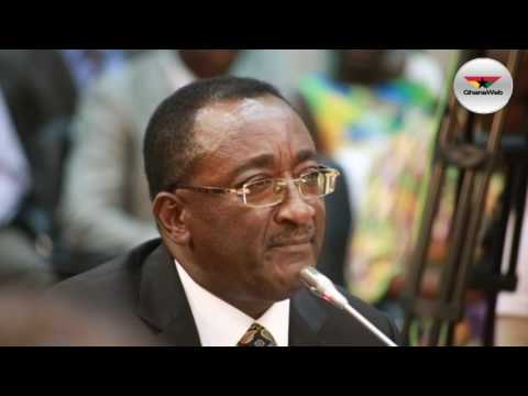 Highlights of Dr. Owusu Afriyie Akoto's appearance before Appointments Committee
