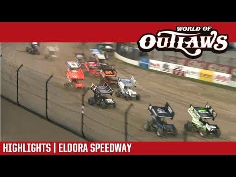 World of Outlaws Craftsman Sprint Cars Eldora Speedway May 12, 2018 | HIGHLIGHTS