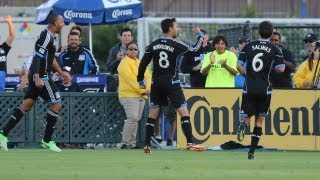 HIGHLIGHTS: San Jose Earthquakes vs Chivas USA | August 3, 2013
