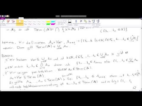 Mathematische Logik - Grundlagen - Sprache - 2