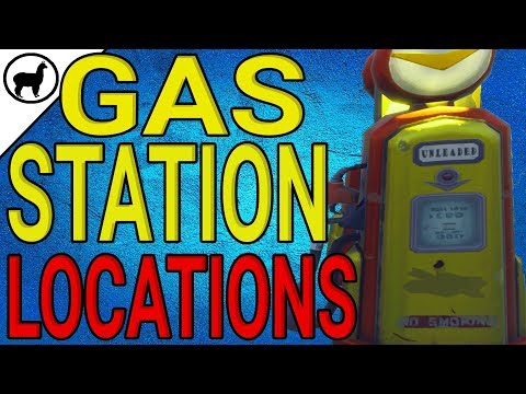 How to Find Gas Station Locations   Battle Pass Week 5 Challenges   Fortnite Battle Royale