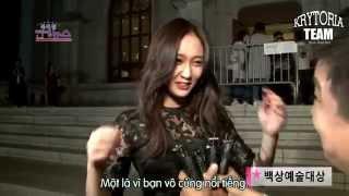 [Vietsub] f(x) Krystal - OBS Interview After Baeksang Art Awards 2015 {Krytoria Team}