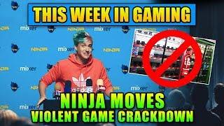 Ninja Moves & Violent Game Crackdown - This Week In Gaming   FPS News