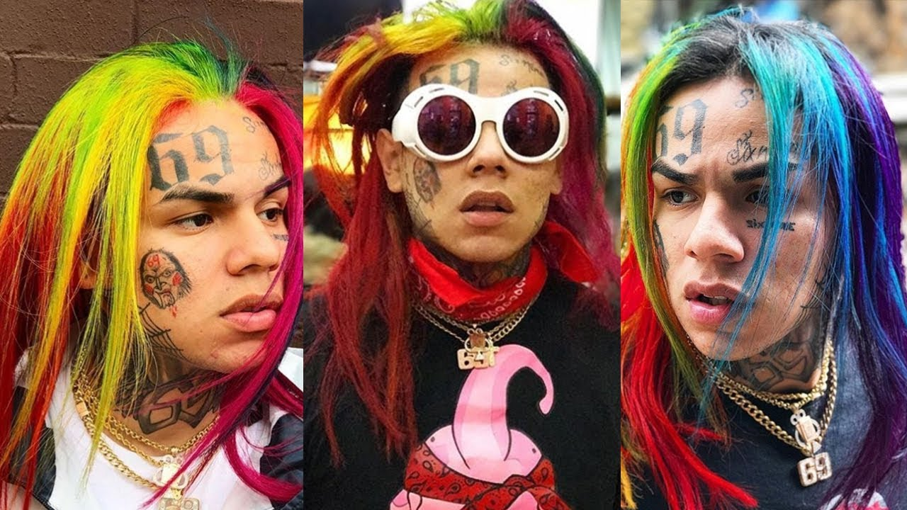 6ix9ine Says People Think He Likes Guys Because of His ...