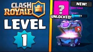 LEVEL 1 NOOB OPENS SUPER MAGICAL CHEST :: Clash Royale :: SUPER MAGICAL & MAGICAL CHEST OPENING!