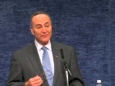 Introduction of Senator Charles Schumer