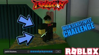 ROBLOX | ASSASSIN: HIGH SENSITIVITY CHALLENGE (CHAMPION BLADE GAMEPLAY) *CHALLENGING*