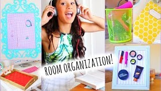 Cute and Easy DIY Room Decorations + Tips/ How to Get Organized! | MyLifeAsEva