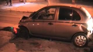 Последствия ДТП 1 января Челябинск