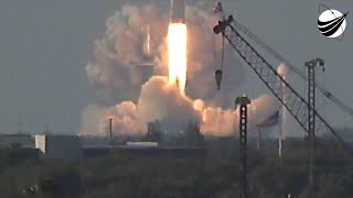 SpaceX Falcon Heavy Launch And Land  04-11