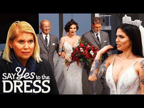 Cami Li Rocks a Fitted White Dress on Her Big Day! | Say Yes To The Dress. http://bit.ly/2JHxj9e