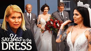 Cami Li Rocks a Fitted White Dress on Her Big Day! | Say Yes To The Dress