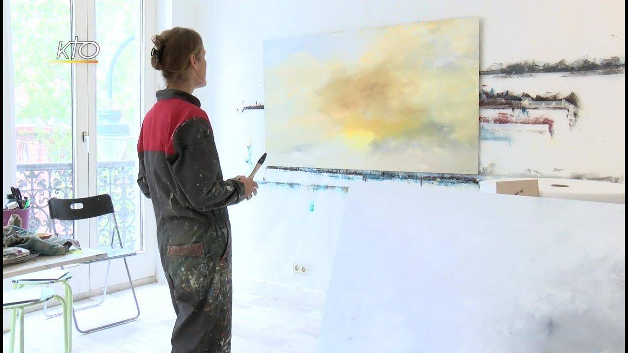 Aude carr artiste peintre youtube for Artiste peintre narbonne