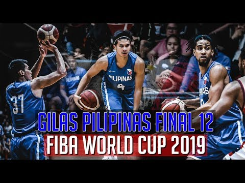 GILAS PILIPINAS FINAL 12 | Official Line-up For FIBA WORLD CUP 2019 | Completo Na!