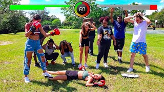 EXTREME $100,000 COUPLES BOXING MATCH!!!