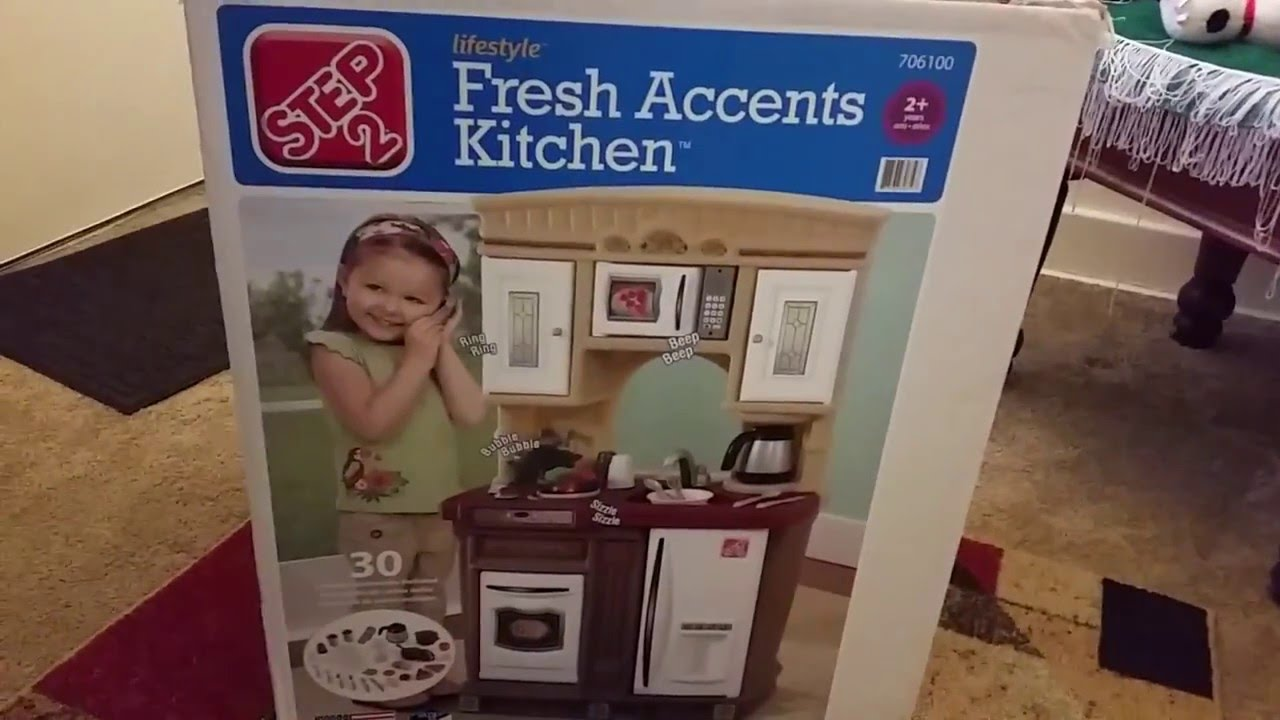 Step 2 Lifestyle Kitchen step 2 fresh accents kitchen unboxing! - youtube