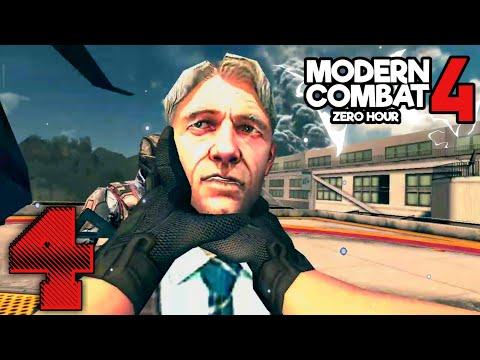 Modern Combat 4 : Zero Hour (4) - Android Gameplay