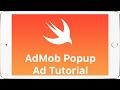 Swift - AdMob Interstitial Popup Ad Tutorial