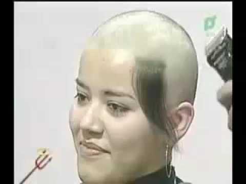 Head shave girls and short hair cut