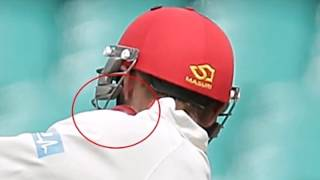 Phil hughes australian batsman hit on head in sydney