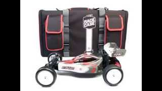 New Racers Edge 2023 Double Buggy RaceCase Hauler Bag in Racers Edge Red T Best