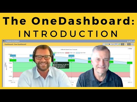 The OneDashboard Part 1: Introduction