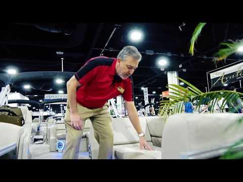 2018 Pontoon Boat COMPOSITE SEAT FRAME COVERS | Avalon Luxury Pontoons