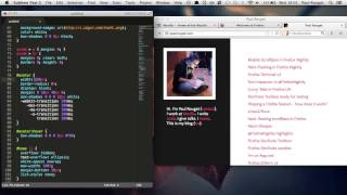 Firefox CSS live edit in Sublimetext (work in progress)