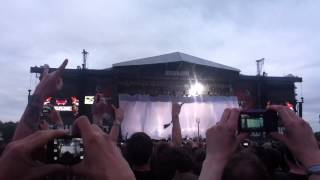 Download Festival 2013 - Slipknot - Intro & Disasterpiece