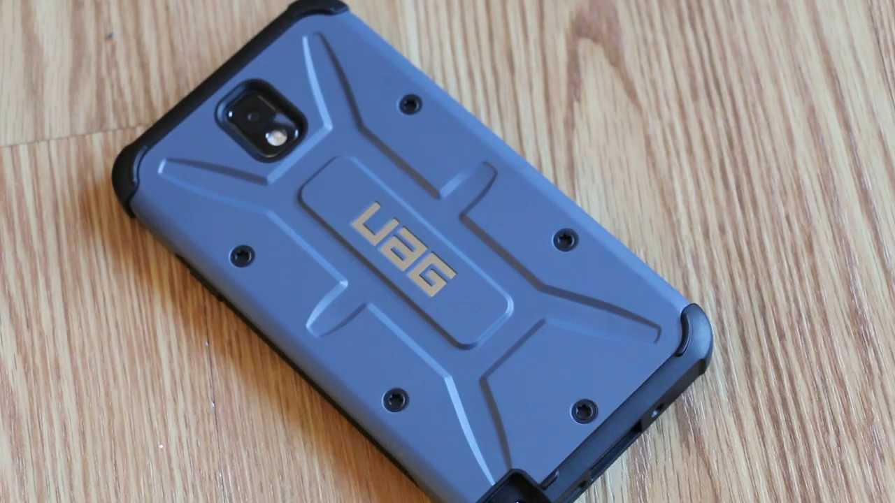 the best attitude 6b812 9d282 Galaxy Note 3 UAG Case Review
