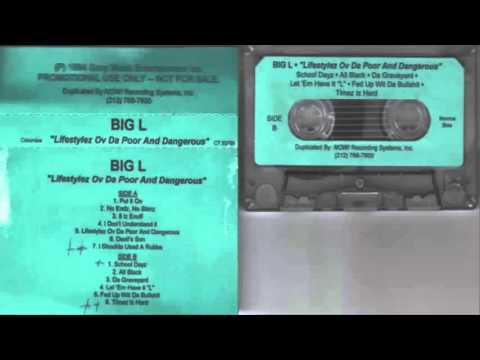 Big L - Lifestylez Ov Da Poor & Dangerous (Promo Cassette) - 1994 (Full Album)