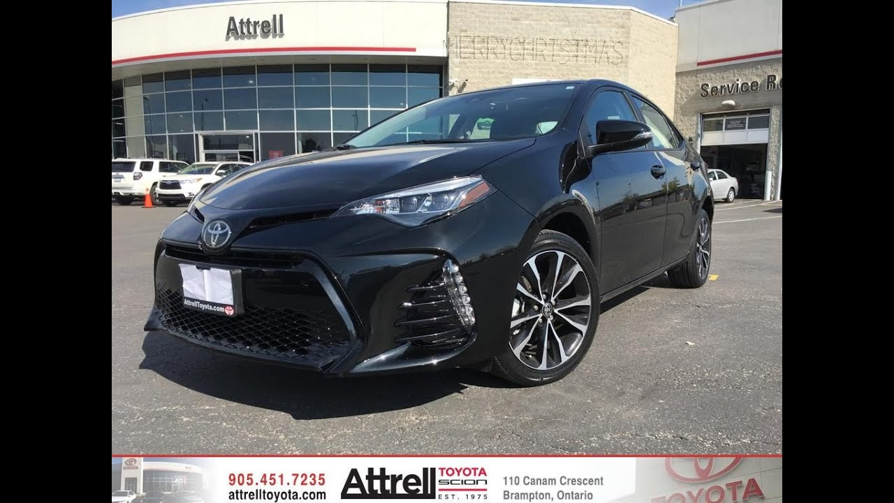 Toyota Of Katy >> 2017 Toyota Corolla SE Upgrade Package - Brampton ON - Attrell Toyota - YouTube