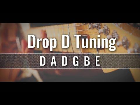 Drop D Guitar Tuner (DADGBE)