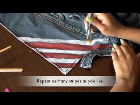 DIY - American Flag Vest