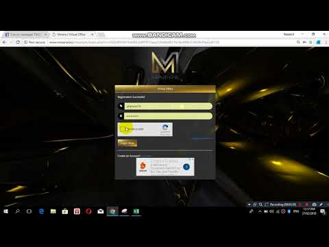 How to Register Minera.biz With Explanation Part 1