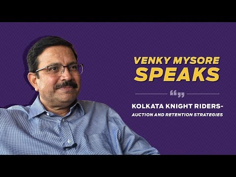 Venky Mysore sheds light on KKR's retention-list for IPL 2019 | Kolkata Knight Riders