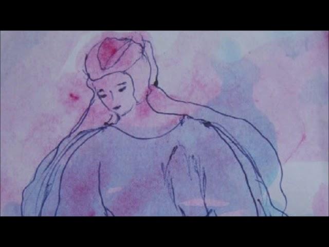 Смотреть видео пространство голубых и розовых тонов  Рисунки Ирины Ишимской